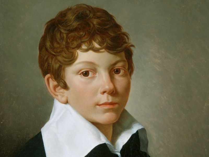 Louis Léopold Boilly (1761–1845) - 'Portrait of a Boy'