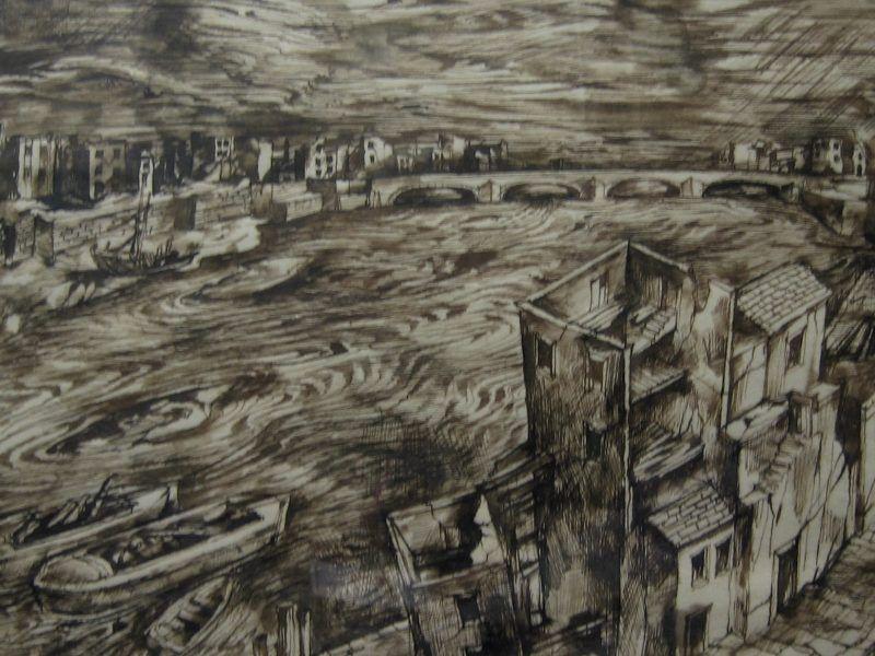 John Minton (1917-57) – 'The Thames'