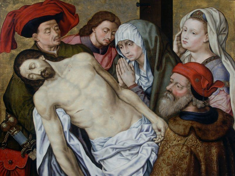 Hugo van der Goes (c.1440-1482) - 'The Lamentation'