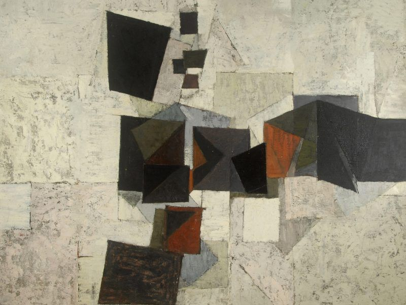 Adrian Heath (1920-1992) - 'Determined Progression' 1953.