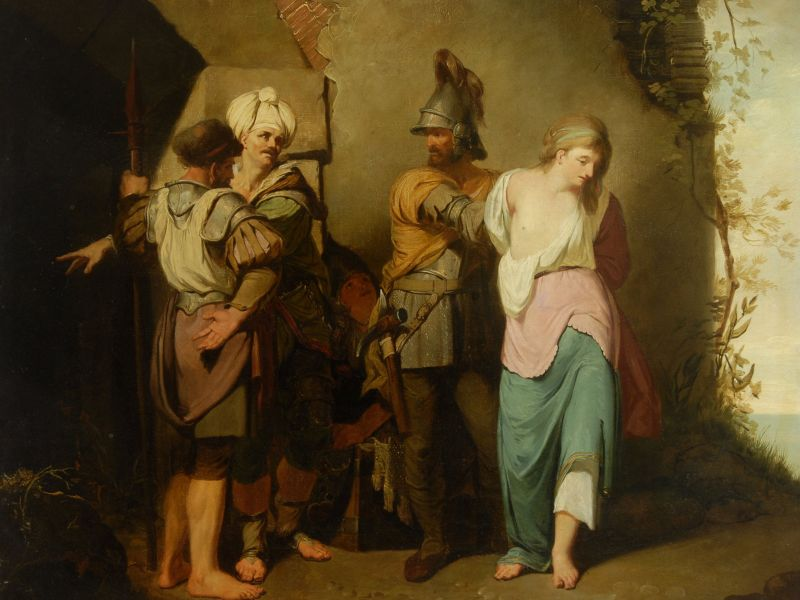 John Hamilton Mortimer (1740-1779) - 'Banditti Returning'.