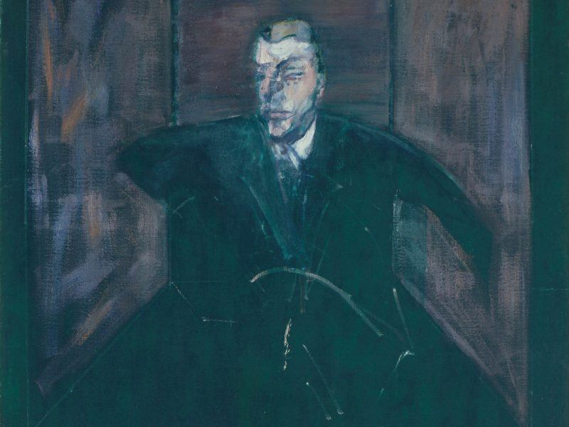 Francis Bacon - 'Study for Portrait VI' 1956-57.