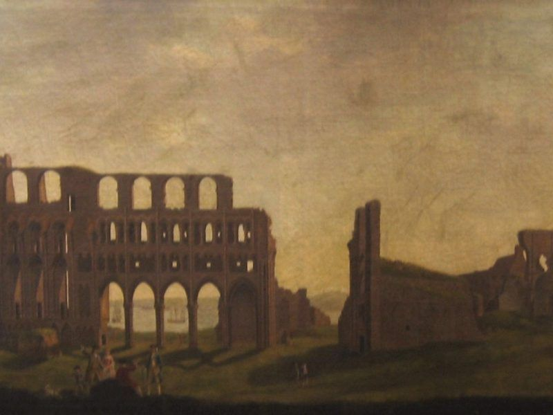 Ralph Waters (1720-98) 'View of Tynemouth Priory'