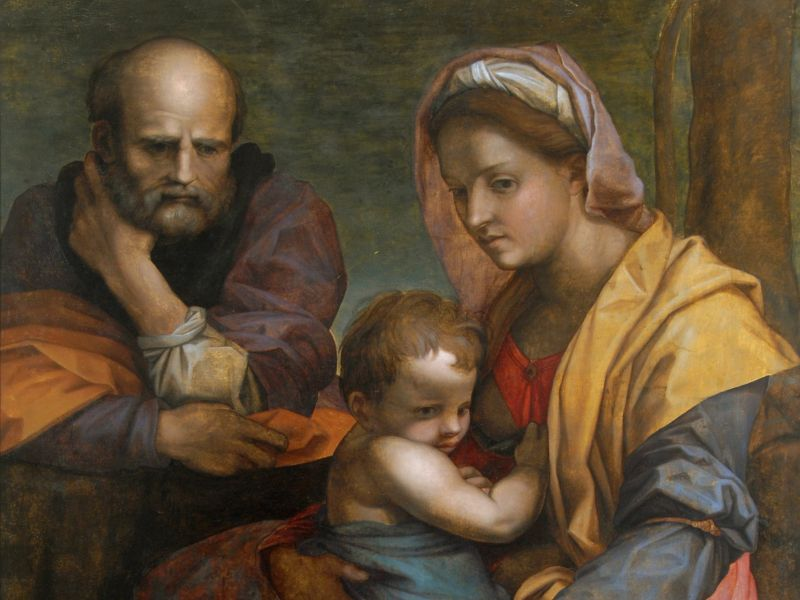 Andrea del Sarto (1486-1530) – 'The Holy Family'