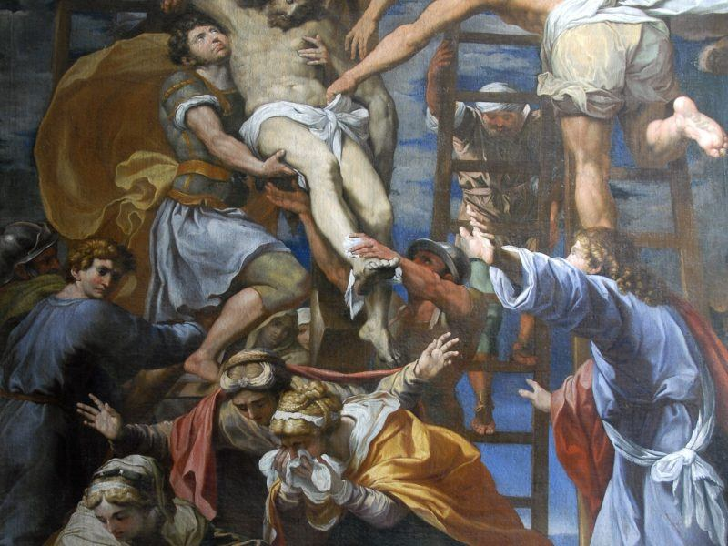 Domenichino (1581-1641) 'The Descent From the Cross'