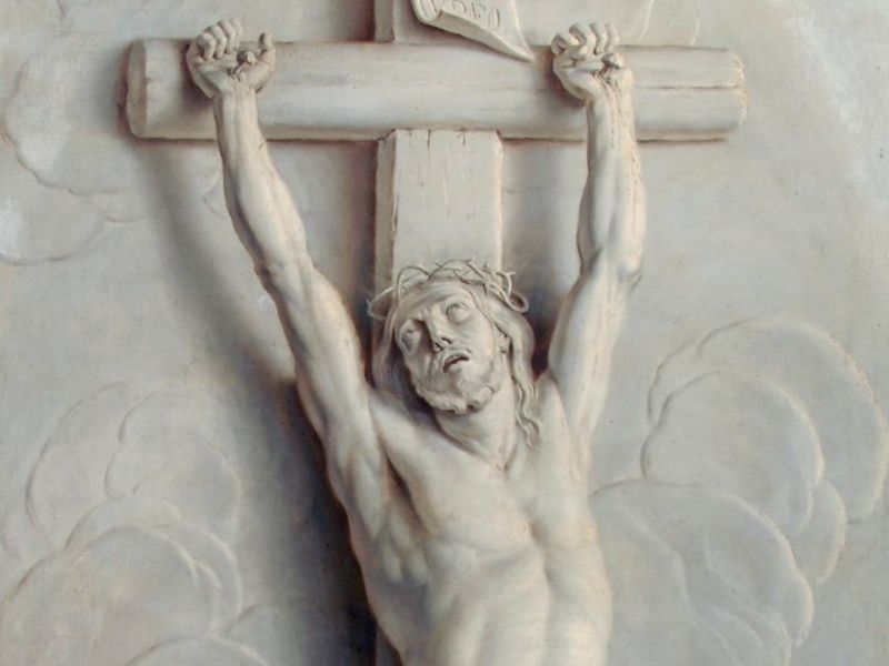 Jacob de Wit (1695-1754) - 'Christ on the Cross'
