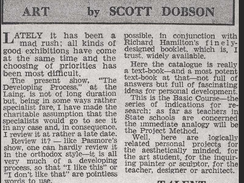 1959, Developing Process-scott-dobson