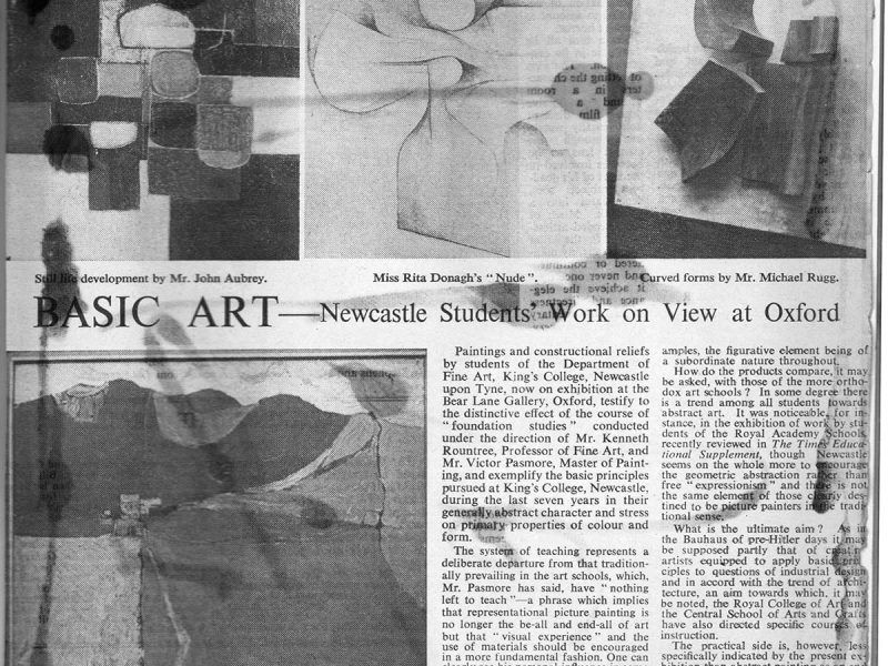 1961, Basic Art Press Cutting