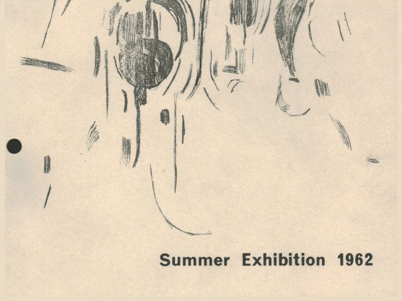 1962-summer-exhibition catalogue