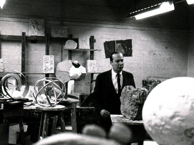 Richard Smith Was A Visiting Tutor in 1963
