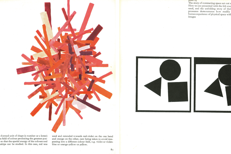 1964, Maurice de Sausmarez book 'Basic design: the dynamics of visual form'