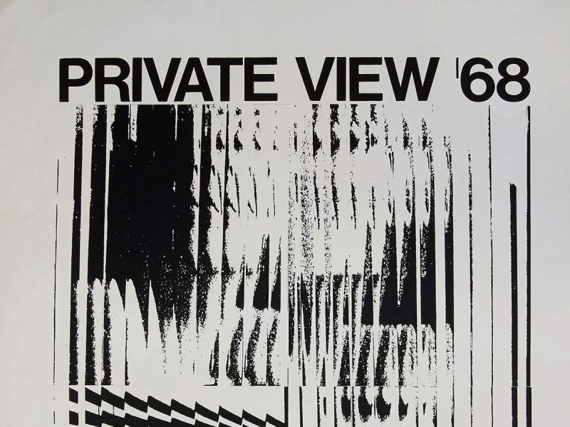 1968 Private View series of student exhibitions, by Alexander Dunbar