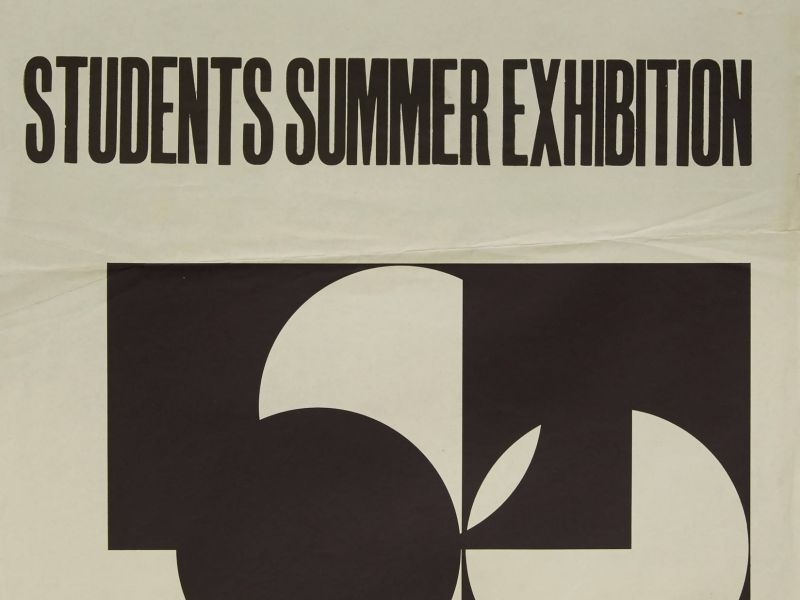 The 1958 Summer Exhibition poster