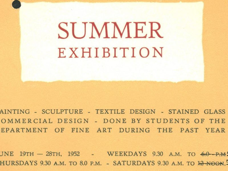 1952-student-summer-exhbition